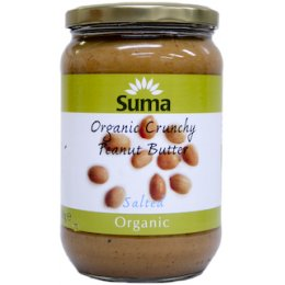 Suma Organic Peanut Butter - Crunchy - Salted - 700g