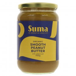 Suma Organic Peanut Butter - Smooth - Salted - 700g