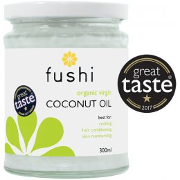Fushi Organic Virgin Cold Pressed Coconut Oil - 300ml