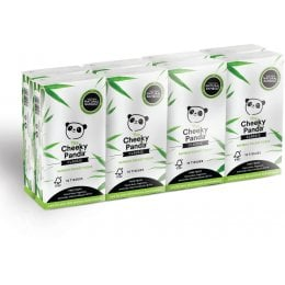 The Cheeky Panda FSC 100 percent  Bamboo Pocket Tissue - 8 Pack