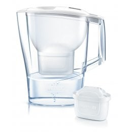 Brita Aluna Water Filter Jug - Cool White -  2.4L