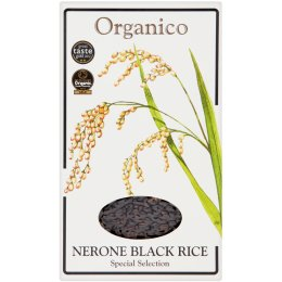 Organico Wholegrain Nerone Black Rice - 500g