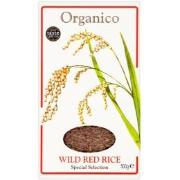 Organico Wholegrain Wild Red Rice - 500g