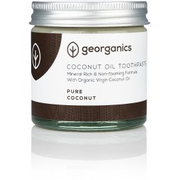 Georganics Natural Coconut Toothpaste - Pure Coconut - 60ml