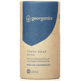 Georganics Natural Tooth Soap - English Peppermint - 60ml
