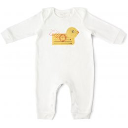 From Babies with Love Organic Duck Baby Grow