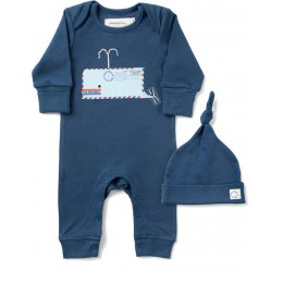 From Babies with Love Organic Whale Gift Set