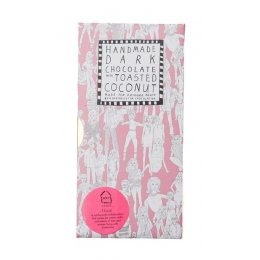 Arthouse Meath Dedicated Followers of Fashion Dark Chocolate with Coconut - 100g