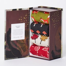 Thought Womens Forest Finds Bamboo Sock Gift Box