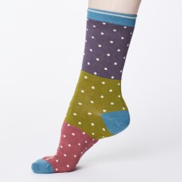 Thought Womens Bamboo Natacha Socks - Slate