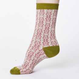Thought Womens Bamboo Alara Socks - Rose Pink