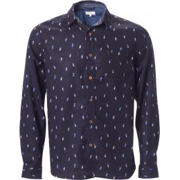Thought Painters Palette Shirt - Dark Navy