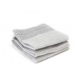 Full Circle Tidy Dish Cloths (3pk) - Grey