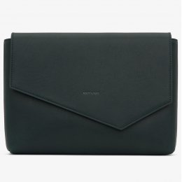 Matt & Nat Riya Vegan Clutch Bag - Emerald
