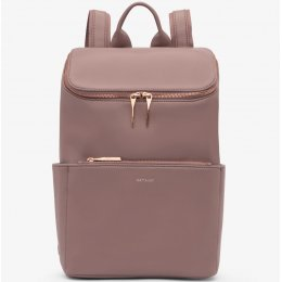 Matt & Nat Brave Vegan Backpack - Mahogany
