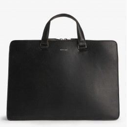 Matt & Nat David Vegan Briefcase - Black