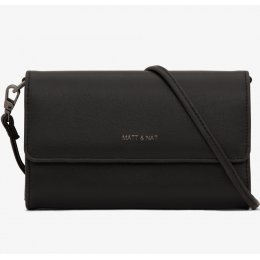 Matt & Nat Drew Vegan Crossbody Bag - Black