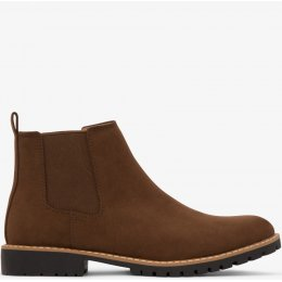 Matt & Nat Hail Mens Vegan Chelsea Boots - Chestnut