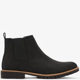 Matt & Nat Hail Mens Vegan Chelsea Boots - Black