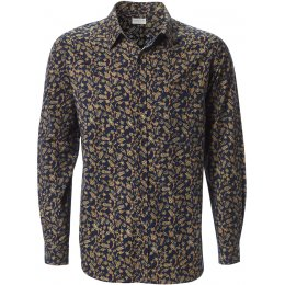 Nomads Floral Long Sleeve Shirt - Navy