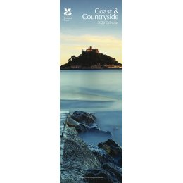 National Trust Coast & Countryside 2020 Slim Calendar