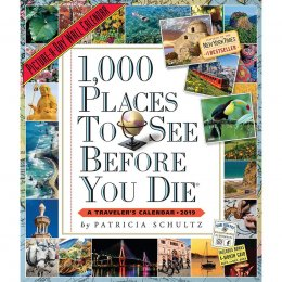 1,000 Places to See Before You Die 2019 Wall Calendar