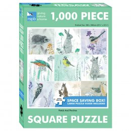 RSPB Petals and Perches Jigsaw - 1000 Pieces