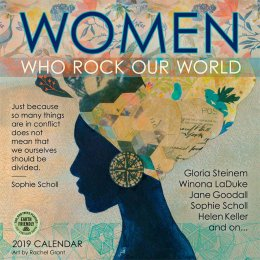Women Who Rock Our World 2019 Wall Calendar