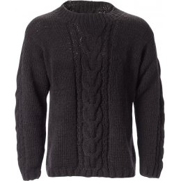 Mens Zermatt Sweater - Charcoal