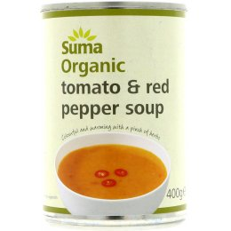 Suma Organic Tomato & Red Pepper Soup - 400g