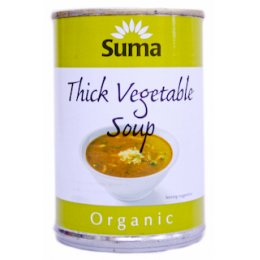Suma Organic Thick Vegetable Soup - 400g