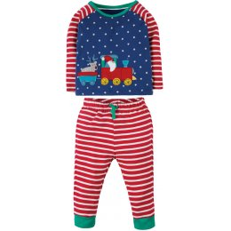 Frugi Stargaze Pyjamas - Train