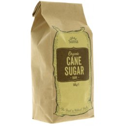 Suma Prepacks Organic Raw Cane Sugar - 500g