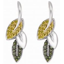 Kashka London Spring in My Step Silver Earrings