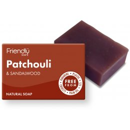 Friendly Soap Patchouli & Sandalwood Bath Soap - 95g