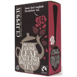Clipper Fairtrade English Breakfast Tea - Loose Leaf - 125g