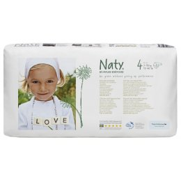 Naty by Nature Babycare Nappies Economy Pack x 46 - Medium 4