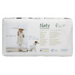 Naty by Nature Babycare Nappies Economy Pack x 44 -  Medium 4