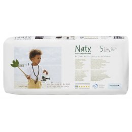 Naty by Nature Babycare Nappies Economy Pack x 42 - Large 5