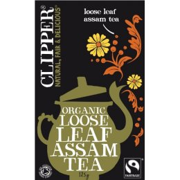 Clipper Fairtrade Organic Assam Tea - Loose Leaf - 125g