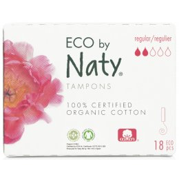 Naty by Nature Tampons Digital - Super - 18 pcs