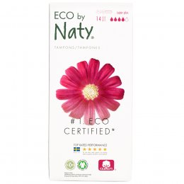 Eco by Naty Applicator Tampons - Super  - 14 pcs