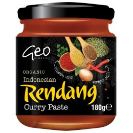 Geo Organics Indonesian Rendang Curry Paste - 180g