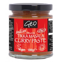 Geo Organics Tikka Masala Curry Paste - 180g