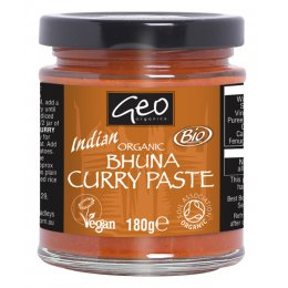 Geo Organics Bhuna Curry Paste - 180g