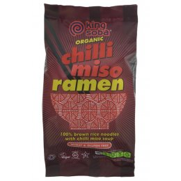 King Soba Chilli Miso Ramen - 80g