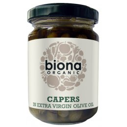 Biona Capers In Olive Oil - 120g