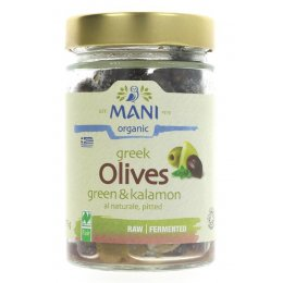 Mani organic Green & Kalamon Olive Mix - 175g