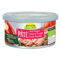 Granovita Red Pepper Pate - Palm Free - 125g