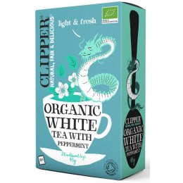 Clipper Organic White Tea with Peppermint - 26 Bags